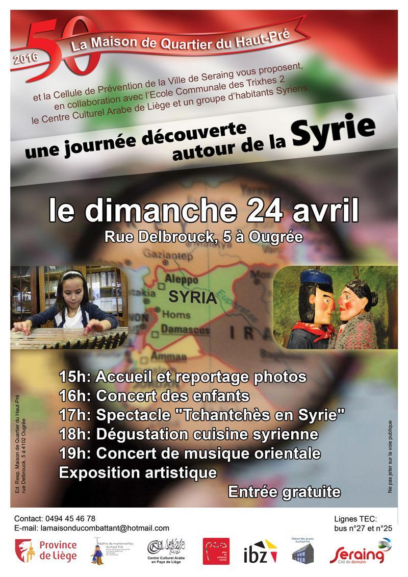 Affiche journée syrie