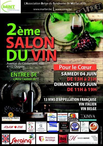 Salon du vin marfan seraing ougrée Liège