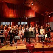La chorale ANIMA enregistre pour Serge Lama