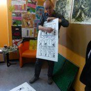Vernissage de l'expo « Liège, terre de BD »