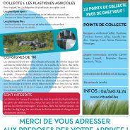 Collecte des déchets de plastiques agricoles non dangereux – Campagne 2016