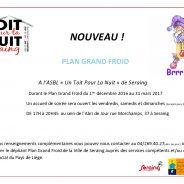 Plan Grand Froid – ASBL « Un Toit Pour La Nuit » de Seraing