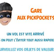 Gare aux pickpockets !