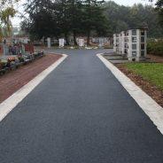 Extension du cimetière de la Cense Rouge à Ougrée
