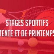 Stages sportifs d'été 2018