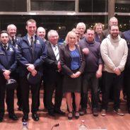 Nouveaux fonctionnaires de police et retraités 2016 mis à l'honneur