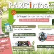 Newsletter du Parc'infos n°55 d'Intradel pour les mois de mars – avril – mai 2017