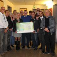 Le KARATE Club de Boncelles remet un chèque de 1700€ au CPAS de Seraing