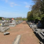 Le cimetière des Grands-Communaux d'Ougrée vient d'être vandalisé !