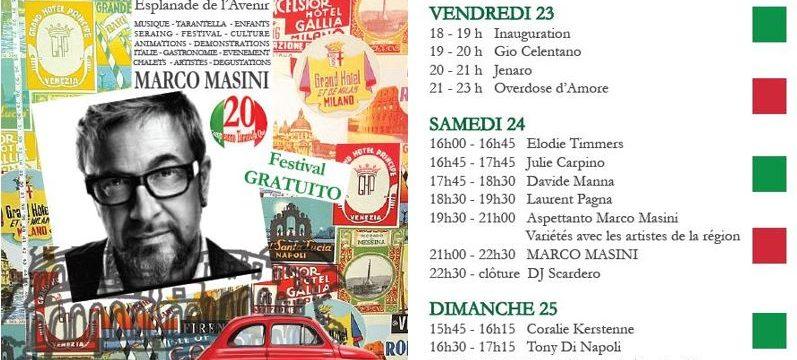 20ème anniversaire du Festival «Tarantella Qui »