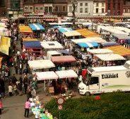 Ce vendredi 13 octobre – déplacement du marché hebdomadaire de la place de l'Avenir vers la rue Cockerill