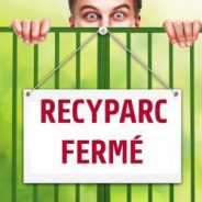 Intradel – Fermeture des recyparcs