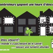 Journée nationale d'action contre les cambriolages dans les habitations