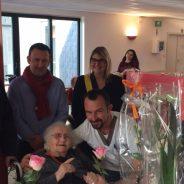 101e anniversaire de Mme Thérèse HUYBRECHTS