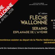 Départ à Seraing pour La Flèche Wallonne 2018