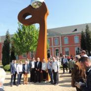Inauguration de « Rapsodie » l'œuvre monumentale de Louis Leloup