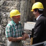 Lancement des travaux de restauration du château Antoine à Jemeppe