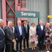 Inauguration de la Ligne 125 A à Ougrée et à Seraing