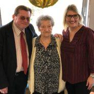 105 ans de Madame Mariette EVERTZ à la Résidence « les genêts » à Ougrée