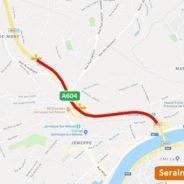 A604 vers Seraing : Fermeture d'un tronçon de l'autoroute ce dimanche
