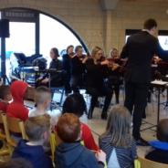 L'orchestre philharmonique de Liège initie les jeunes élèves sérésiens à la musique classique