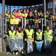 34 élèves de l'école Casanostra participent aux ramassages des déchets de la Ville