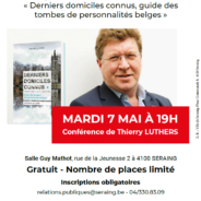 Thierry Luthers donnera une conférence à Seraing!