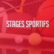 Stages sportifs de détente et de printemps 2020