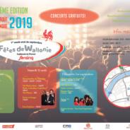 Les Fêtes de Wallonie reviennent le premier week-end de septembre