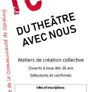Le Théâtre de la Communauté : participez au projet «Du théâtre dans mon quartier»