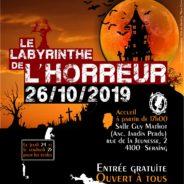 Le Labyrinthe de l'horreur fait son grand retour à Seraing!