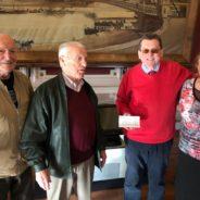 L'Association des Anciens de Cockerill offrent 2990€ à «Un toit pour la nuit»