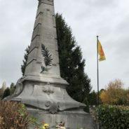 La Ville commémore le 101e anniversaire de l'Armistice 14-18
