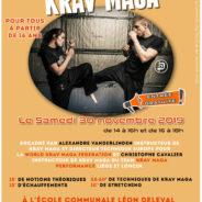 Des cours de Krav Maga gratuits à l'occasion de la campagne «Ruban Blanc»