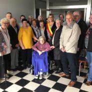 La Ville de Seraing célèbre le 105e anniversaire de Blanche Hody