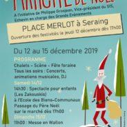 Le Marché de Noël de retour sur la place Merlot du 12 au 15 décembre