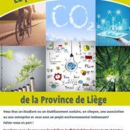 Participez au Prix de l'Environnement de la Province de Liège 2020