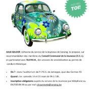 Une sensibilisation gratuite pour les rhétos en vue de l'obtention du permis de conduire théorique
