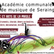 Inscrivez-vous dès maintenant à l'Académie de musique de Seraing