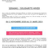 Seraing active son service Solidarité-Hiver