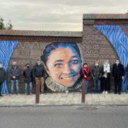 La fresque en hommage à Nadège Abbate inaugurée ce jeudi