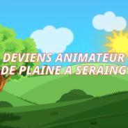 Deviens animateur/animatrice sur les 9 plaines de vacances de Seraing !