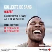 Donnez votre sang les 8, 17 et 18 février à Seraing