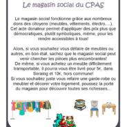 Rendez-vous au magasin social du CPAS pour y découvrir des offres intéressantes