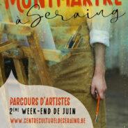 « Montmartre à Seraing » – Parcours d'artistes