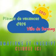 Plaines de vacances d'été: inscrivez votre enfant dès le 1er juin prochain !