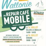Le Repair Café débarque à Seraing le 16 juillet
