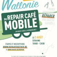 Le Repair Café débarque à Seraing le 3 août 2021 !