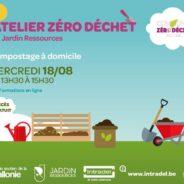 Atelier zéro déchet: de nouvelles formations gratuites pour août et septembre