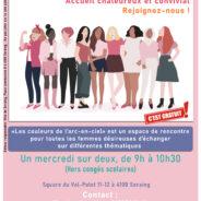 Les couleurs de l'arc-en-ciel ou des ateliers de discussion dédiés aux Femmes